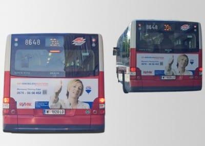 Autobusbeklebung